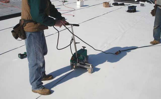 Commercial Roof Installation : Commercial roof installation new connecticut
