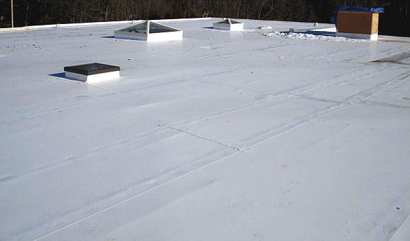Single Ply Roofing Contractor New Roof Connecticut