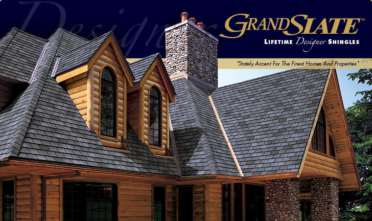 GAF ELK Grand Slate™ Lifetime Designer Roofing Shingles in Connecticut