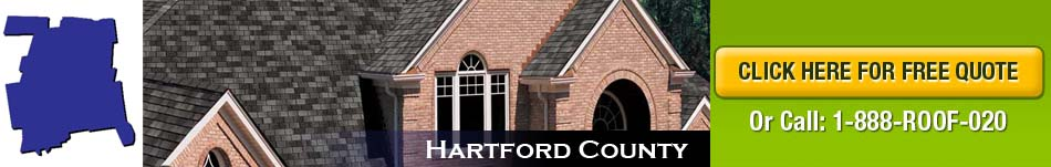 Hartford County Roofing Company New Roof Connecticut