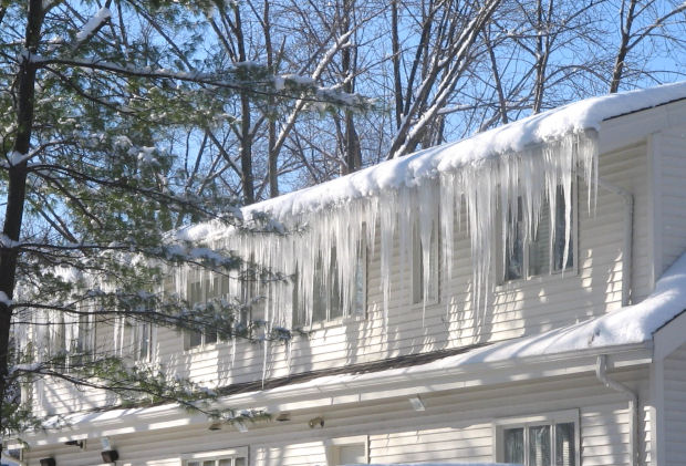 Roof Ice Dams in Connecticut - CT