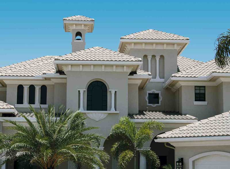 Spanish tile roofing installation and repair new roof for Spanish style roof tiles