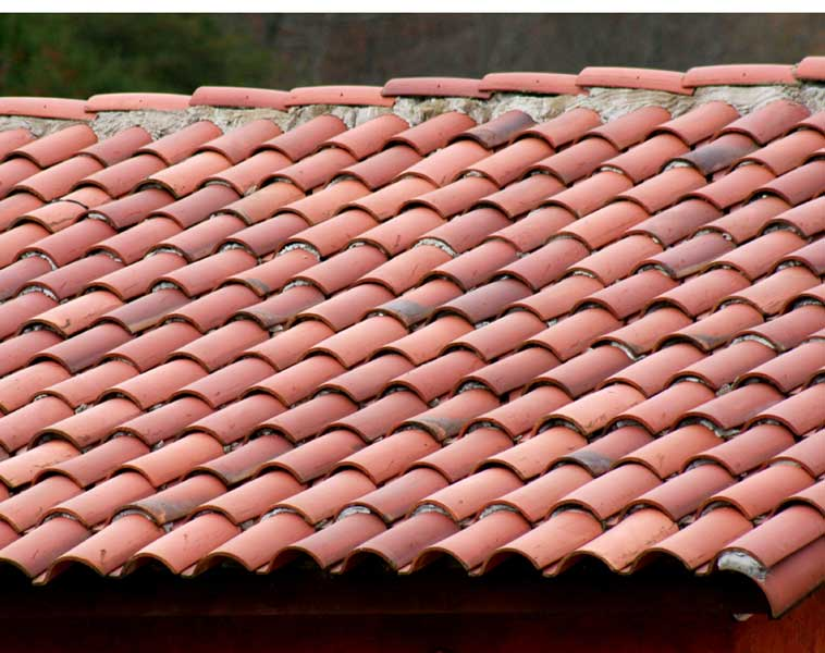 Roof tile spanish tile roofing for Spanish style roof tiles